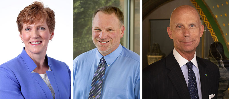 Kim Thompson, Kevin Van Den Bosch, David Lochner
