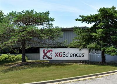 XG Sciences sign
