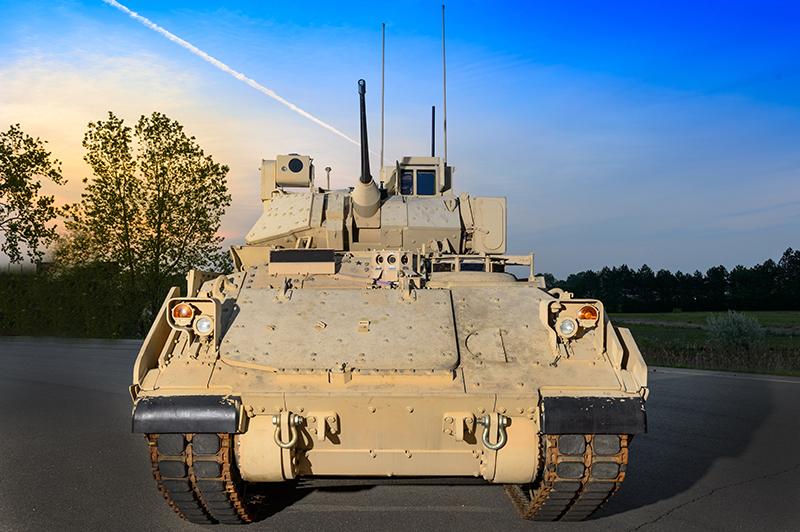 BAE Systems' Bradley Fighting Vehicle
