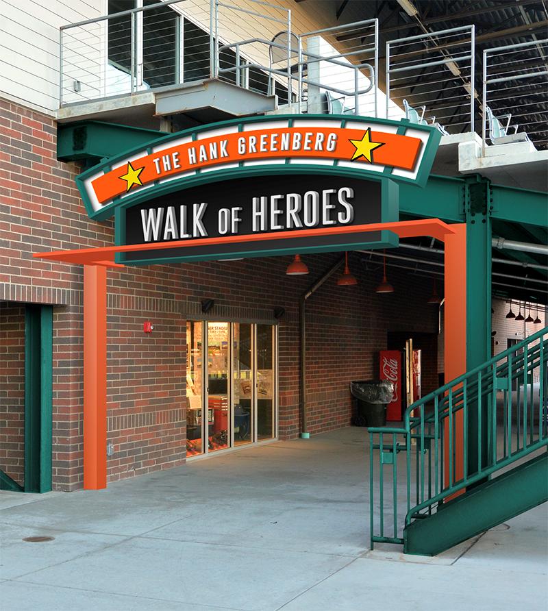 Hank Greenberg Walk of Heroes