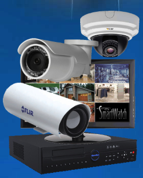 SmartWatch Security and Sound video surveillance products