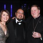 Julie and Rene Palileo, Cardinal Joseph Tobin