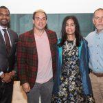 Kwame Simmons, Chris Lambert, Dr. Akosua Barthwell Evans, Michael Score