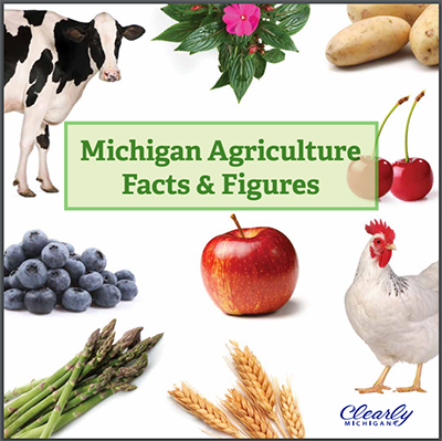 """""""Michigan Agriculture Facts & Figures"""" book"""