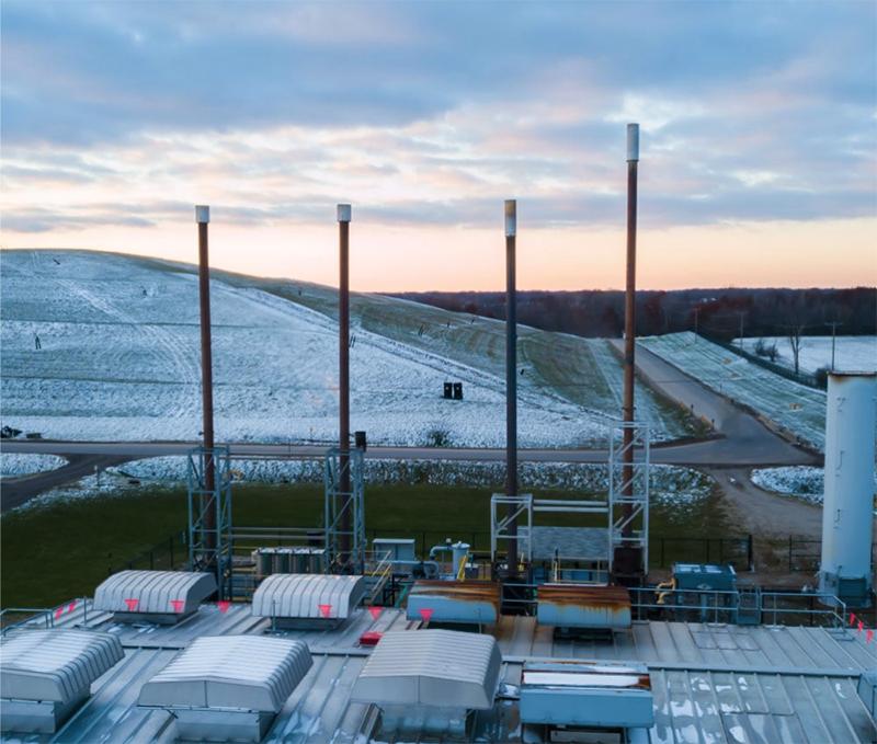 Brent Run landfill gas site