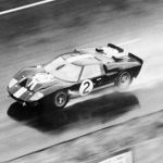1966 LeMans Winning GT40 in Action