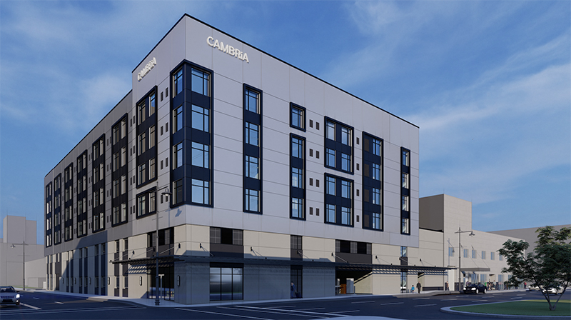 Cambria Hotel Detroit Downtown rendering