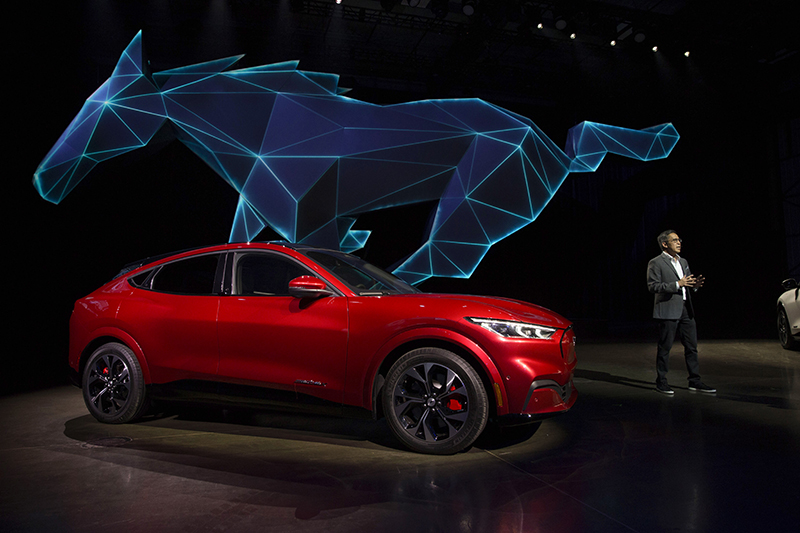 Ford Unveils All Electric Mustang Mach E Suv In Los Angeles Dbusiness Magazine