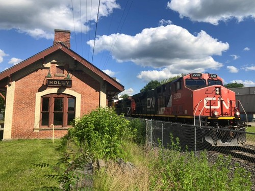 Union Depot train station