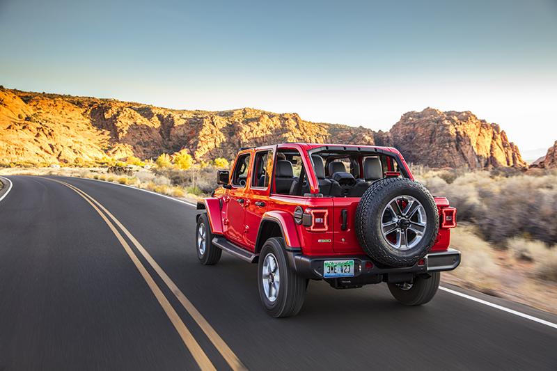 Jeep Introduces 2020 Wrangler Ecodiesel Balancing Fuel Efficiency