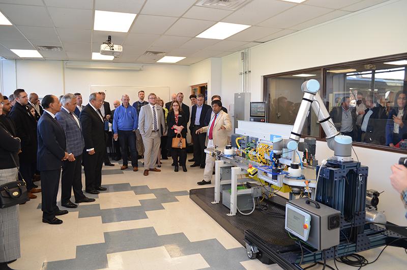 Siemens Electro-Matic Industrial Engineering Laboratory unveiling