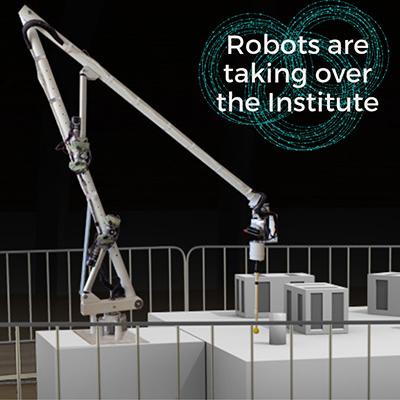 robot in Cranbrook exhibit