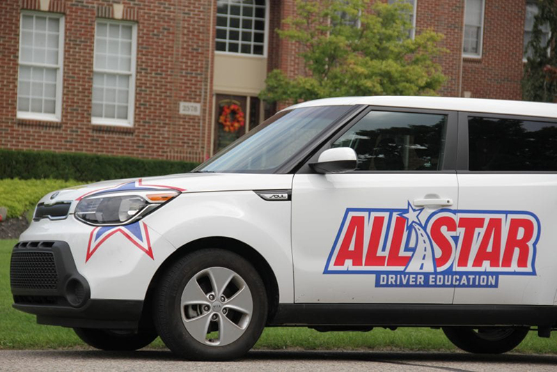 All Star Driver Education car