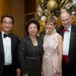 Dr. Steven and Mona Chang, Leslie and Dr. Louis Rosenbaum