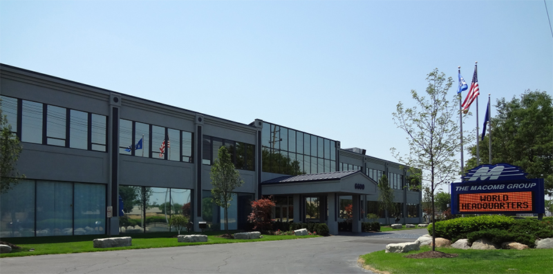 The Macomb Group headquarters
