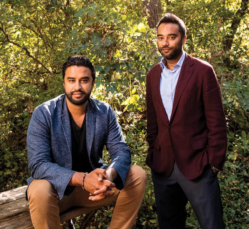Vishal and Ankur Rungta