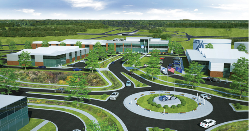 American Center for Mobility rendering