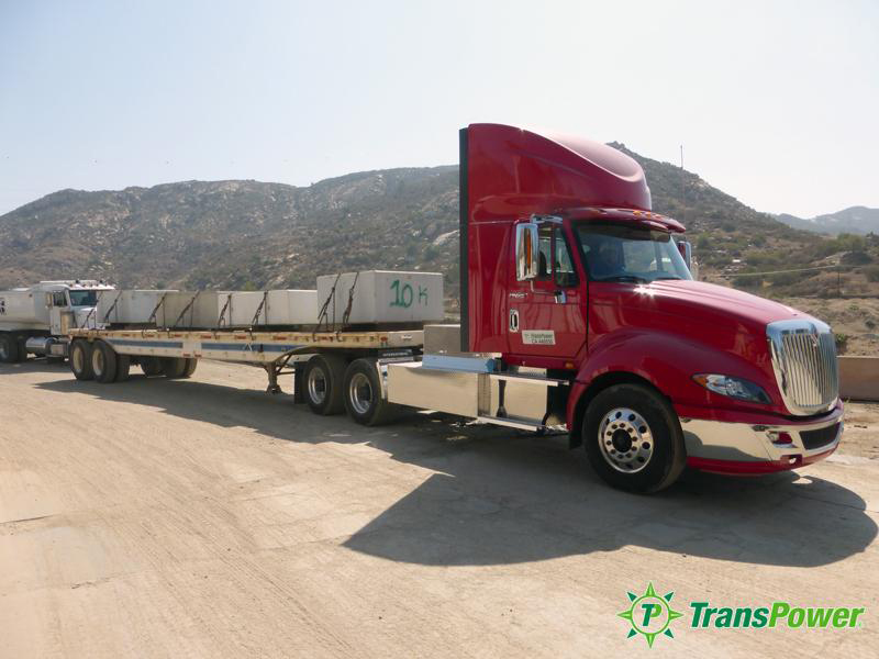 Transportation Power Inc. truck