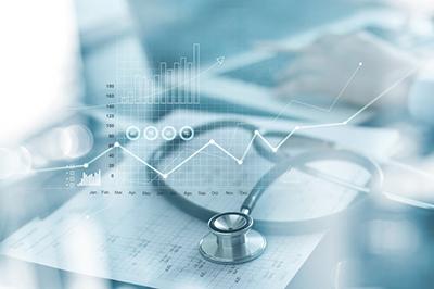 health data and stethoscope