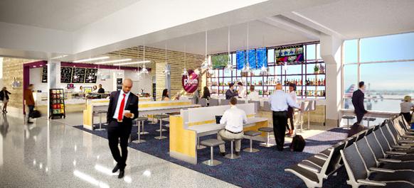 Plum Market Dallas Fort Worth International Airport rendering
