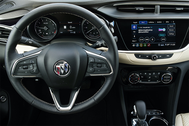 Buick car with SiriusXM 360L
