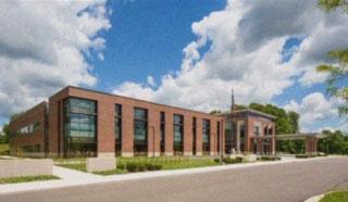 New Baltimore ambulatory center rendering