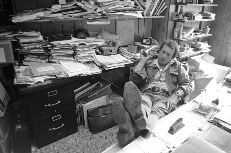 Barry Kramer in his office