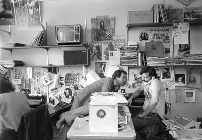 Barry Kramer and Lester Bangs