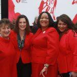 Marla Drutz, Gov. Gretchen Whitmer, Dr. Audrey Gregory, Melanie Brown