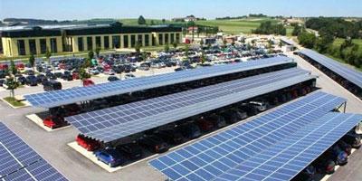 e-Mobility Analytics' EV solar charging system design