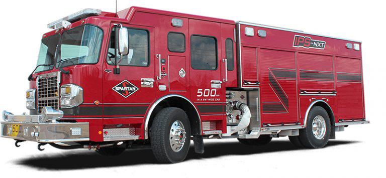 Spartan Emergency Response IPS-NXT firetruck