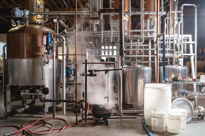 Ann Arbor Distilling Co. equipment