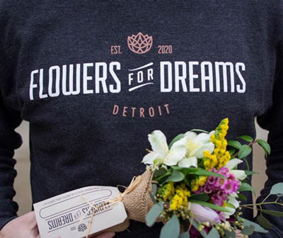 Flowers for Dreams products