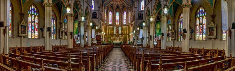 Ste. Anne Church interior