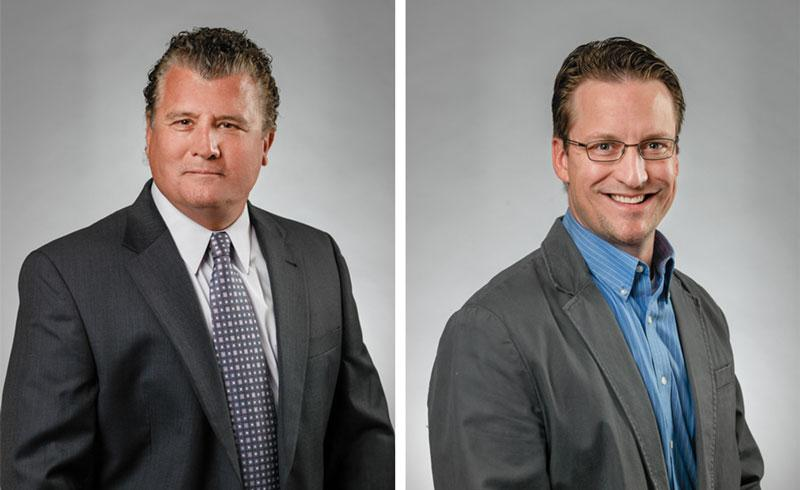 From left: Robert Lyscas, Charlie Westra