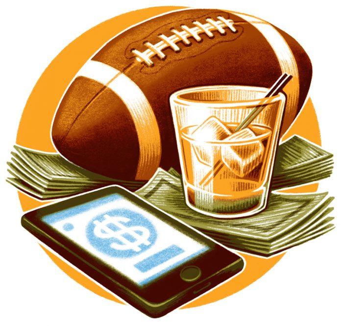 sports betting illustration