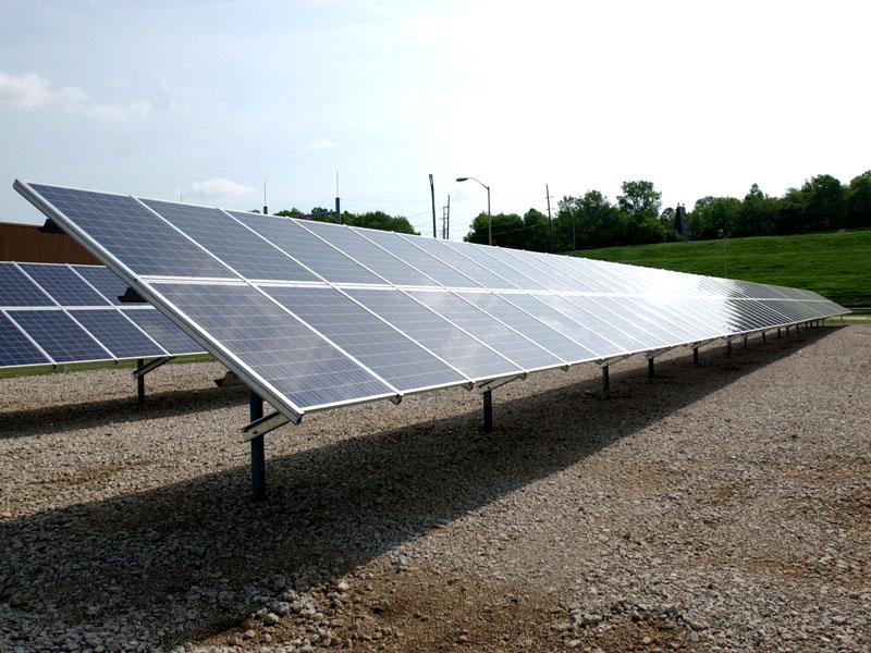 GM Orion solar array
