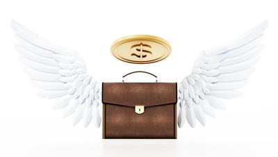 angel investor illustration