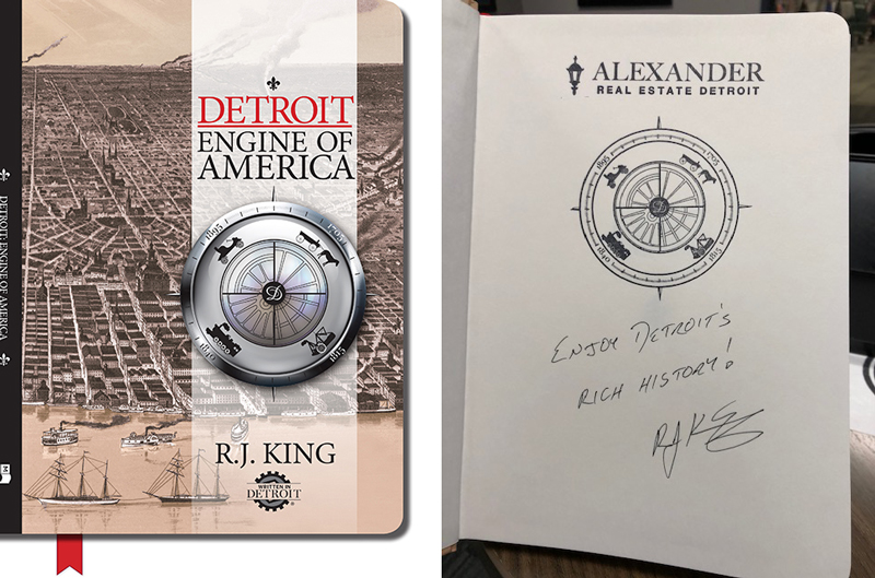 Detroit: Engine of America cover, inside page