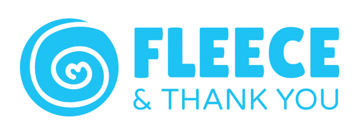 Fleece and Thank You logo