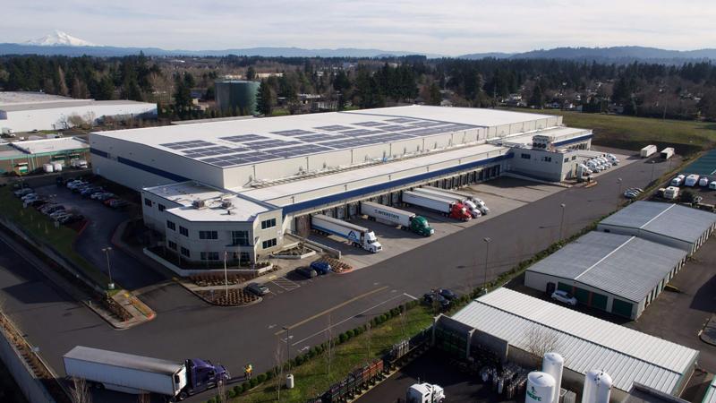 Henningsen's Portland East facility