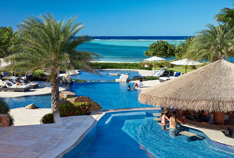 Oil Nut Bay Beach Club Pools