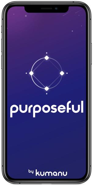 Kumanu's Purposeful app