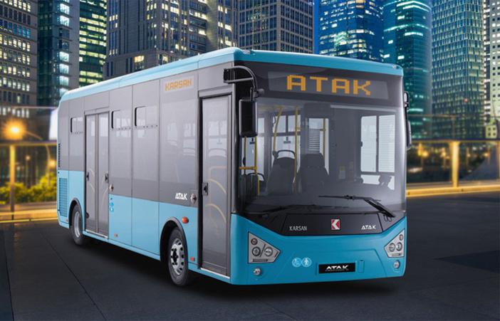 Adastec autonomous electric bus