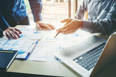 business advisory services stock photo