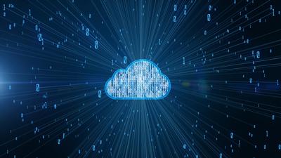 cloud platform illustration