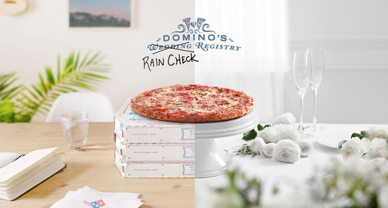 Domino's Rain Check Registry