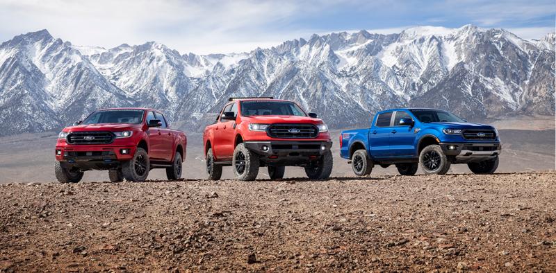 Ford Ranger pickups
