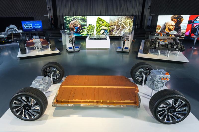 GM electric vehicle platform