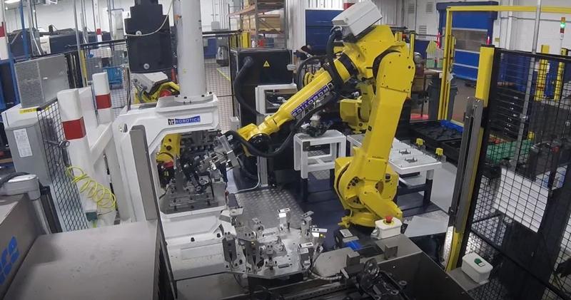 Robots at Grede